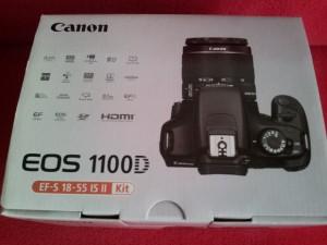 Caja canon eos 1100D
