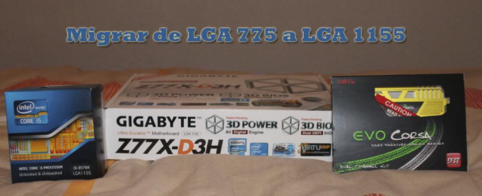 De LGA775 a LGA1155
