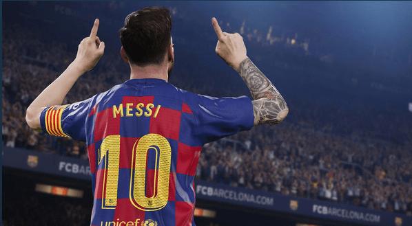 Simulador fútbol PES 2020